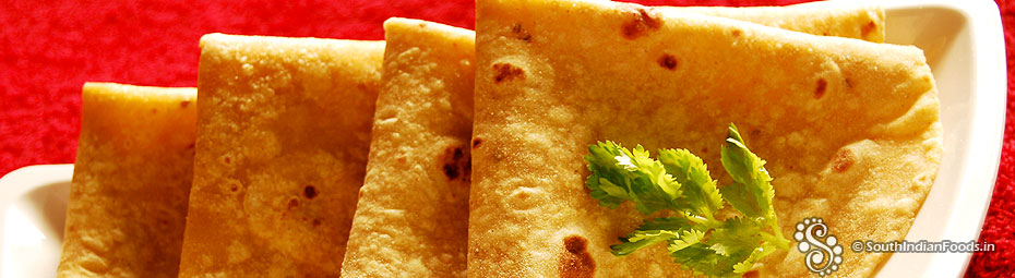 how to make roti step by step