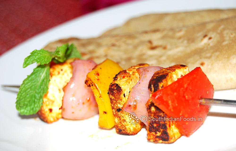 how to cut onion for paneer tikka