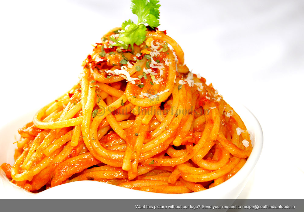 Spaghetti With Tomato Sauce | Spaghetti with tomato sauce easy and low ...